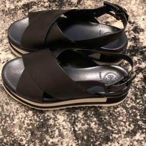 Tory Burch Gloriette Crisscross Platform Sandal